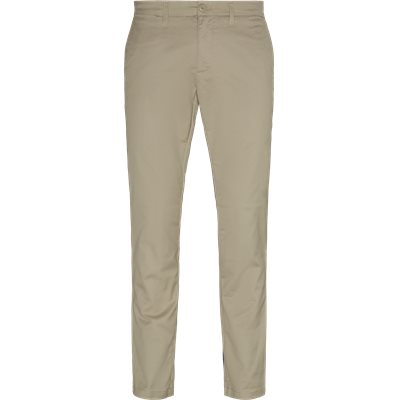 Slim | Trousers | Sand
